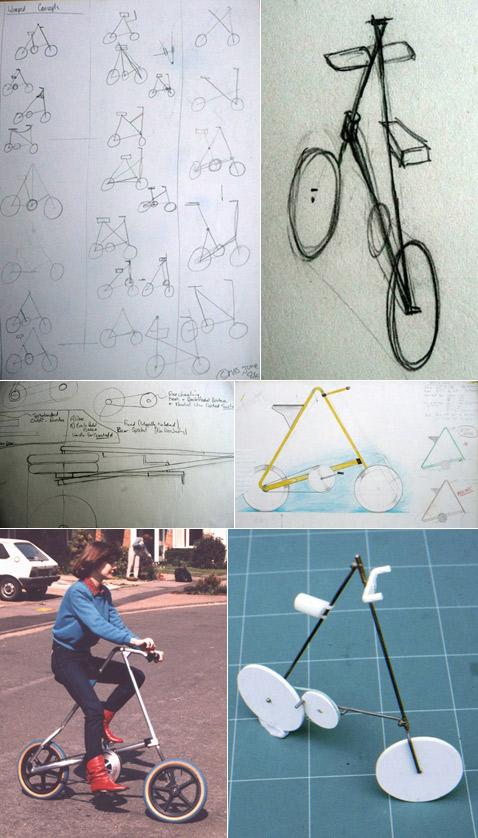 При проектировании «Страйды» Марк поначалу вдохновлялся конструкцией детской коляски, складывающейся в трость. Но, перебрав тьму вариантов, в итоге далеко от неё ушёл. Сандерс говорит, что очень любит слово elegance: элегантность, изящество, ясность, простота.