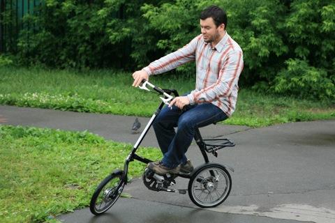 Немного необычные ощущения от поведения велосипеда