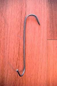 Слегка видоизмененный крюк для китайских курочек