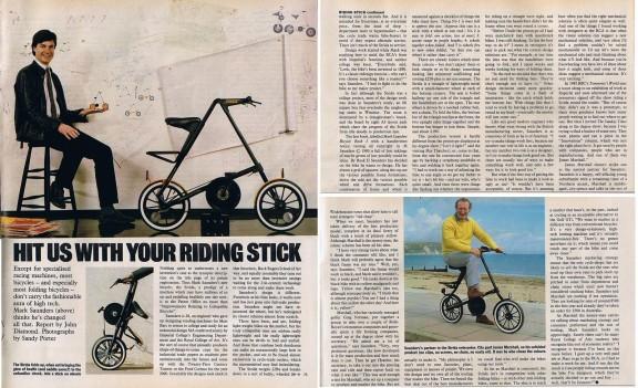 Статья в журнале Sunday Times