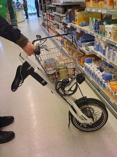 Со «Стридой» в магазине можно обойтись без тележки