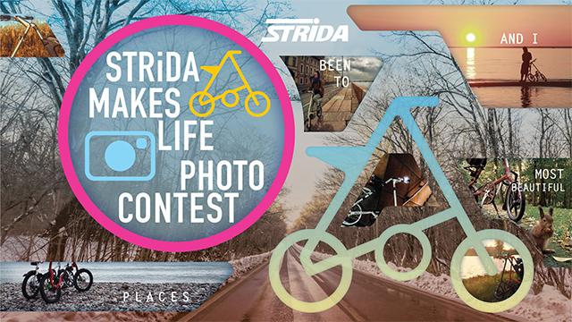 Стартовал международный фотоконкурс STRiDA MAKES LIFE