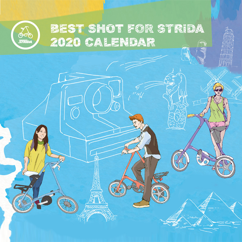 Международный STRiDA календарь-2020 ждет твои фото!