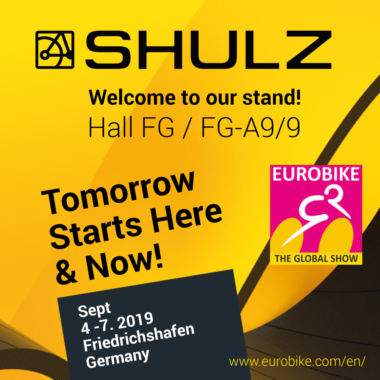 Shulz на выставке Eurobike