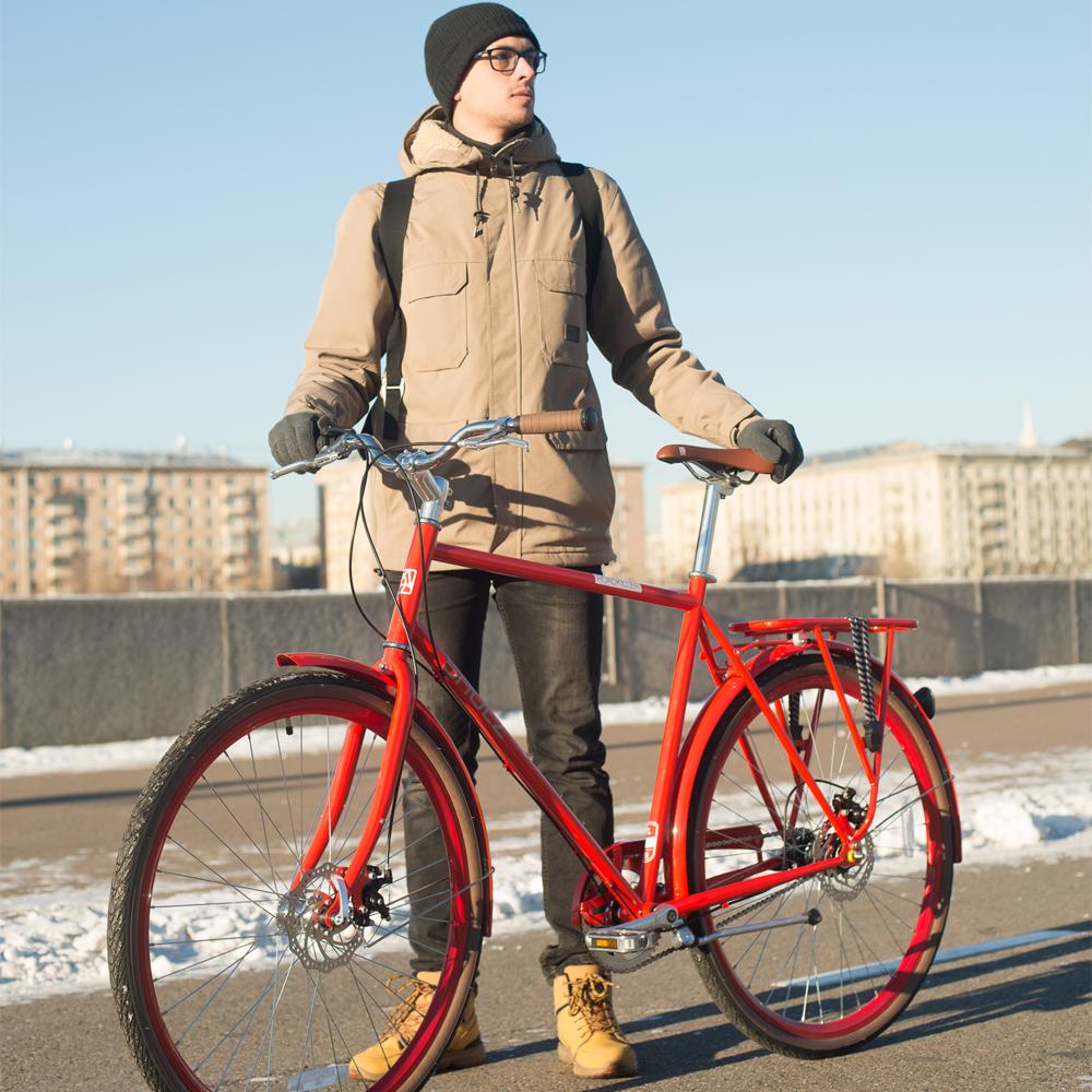 Снижаем цену на красные дорожные велосипеды!